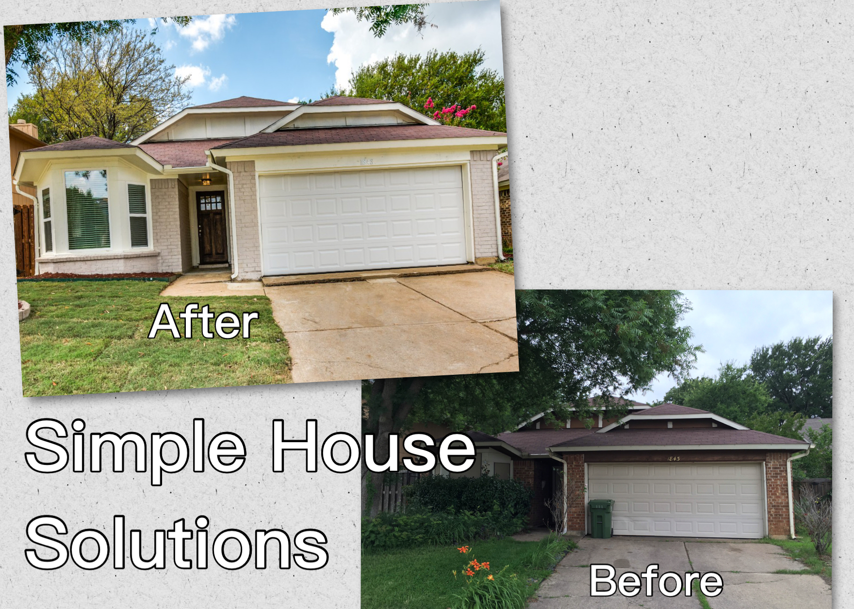 Selling a home as is in dallas the power of first impressions an exterior repaint can result in a powerful personality makeover solutioingenieria Images