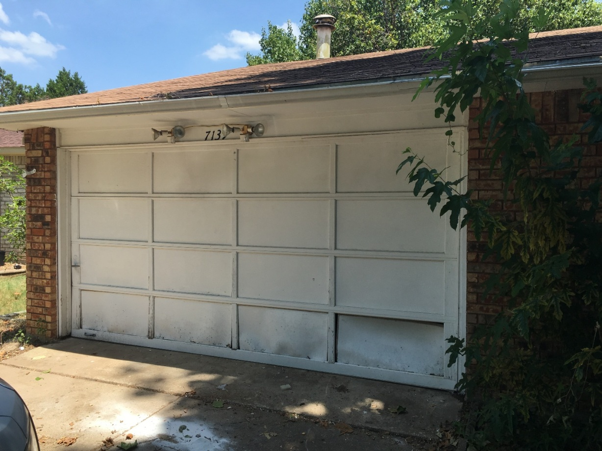 Simple House Solutions Had to Fix the Garage of a Senior Home in Dallas